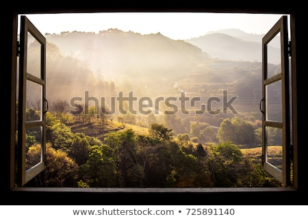 Stock photo: Rural scene and wallpaper