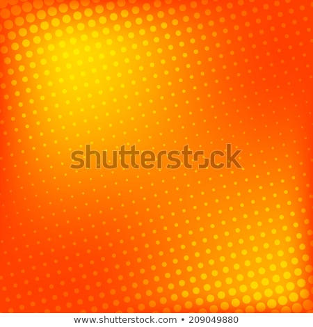 abstract backdrop circle ellipse shape orange red Stock photo © Melvin07