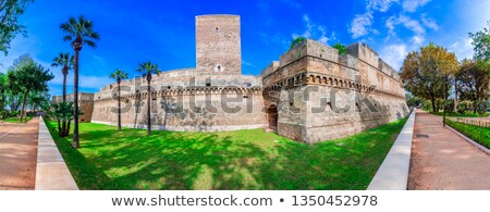 Norman-Swabian castle of Bari, Apulia Stock photo © aladin66