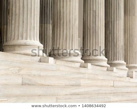 Ionica dettaglio colonna tre colonne antica Foto d'archivio © angusgrafico