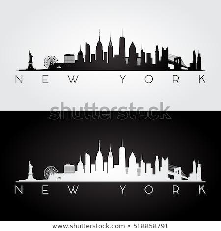 Bina · Manhattan · New · York · ABD · şehir · binalar - stok fotoğraf © andreykr