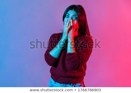 Stock photo: so scared