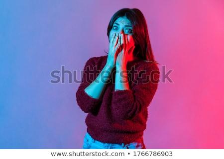 so scared stock photo © jayfish