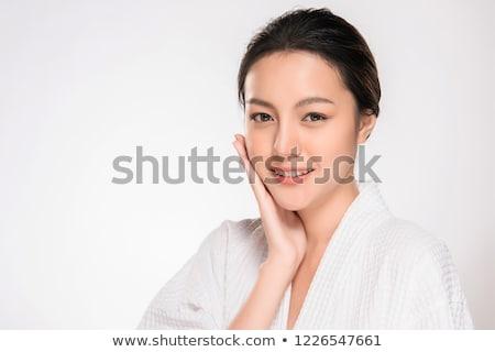 лице · красивой · азиатских · девушки · чистой · свежие - Сток-фото © Nobilior