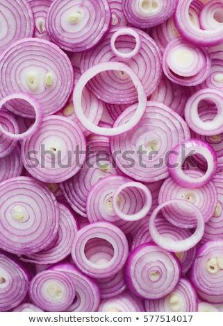 Onions Background Stock photo © ryhor