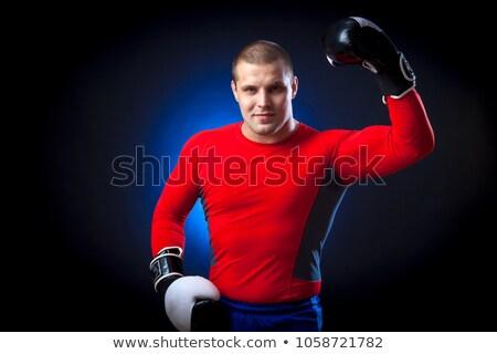gemengd · sport · mannen · spier · strijd · persoon - stockfoto © pxhidalgo