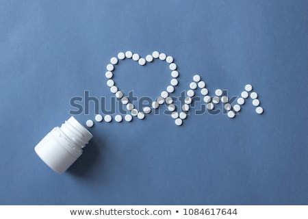 amor · pastillas · 3D · prestados · ilustración · aislado - foto stock © stephanie_zieber
