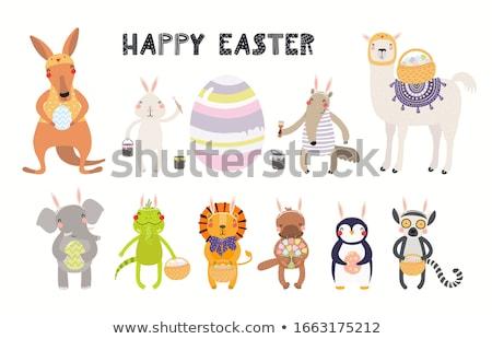 Stockfoto: Easter Kawaii Set
