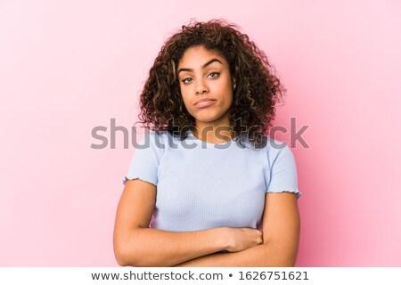 suspicious woman stock photo © ichiosea