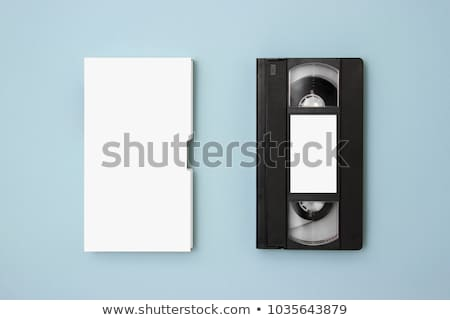 Old  vhs video cassette Stock photo © anan