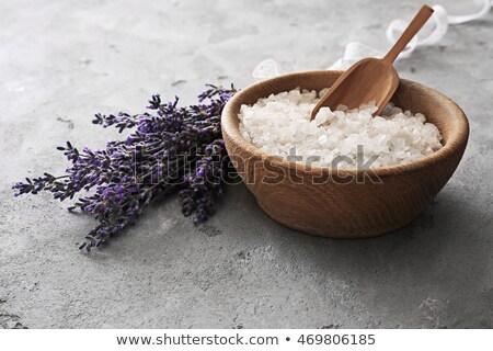 scoop of gray sea salt Stock photo © PixelsAway