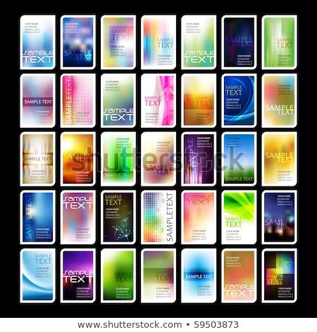 abstract · sjablonen · kleurrijk · folders · textuur - stockfoto © mpfphotography