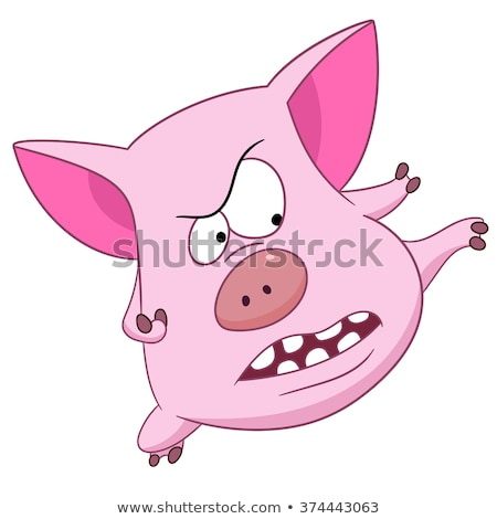 ninja pig stock photo © artcreator