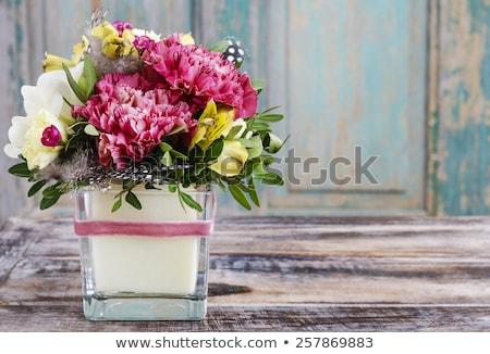 Virág egyezség virágok fény kert szépség Stock fotó © compuinfoto