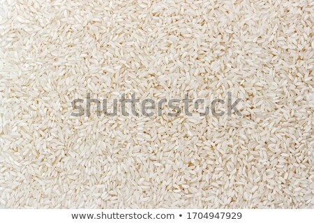 Close up texture of cooked mix white and brown rice  Stock photo © nalinratphi