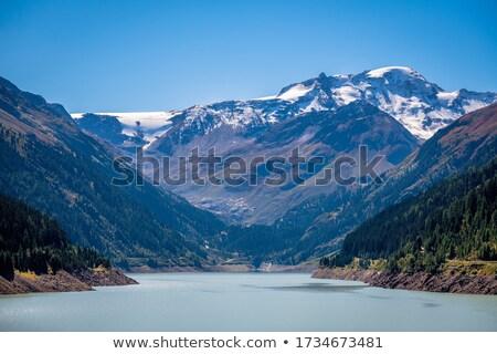 Vallée glacier nature montagne glace Rock Photo stock © LianeM