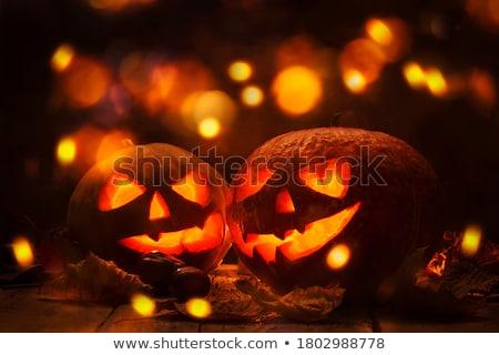 準備 ハロウィン 背景 オレンジ 黒 休日 ストックフォト © Kacpura
