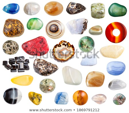 Stockfoto: Blauw · ring · ruw · goud · zilver · turks