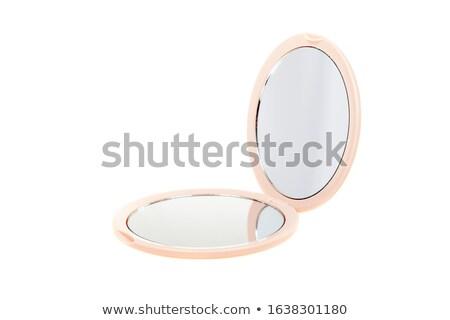 banheiro · espelho · isolado · branco · dois · líquido - foto stock © siavramova