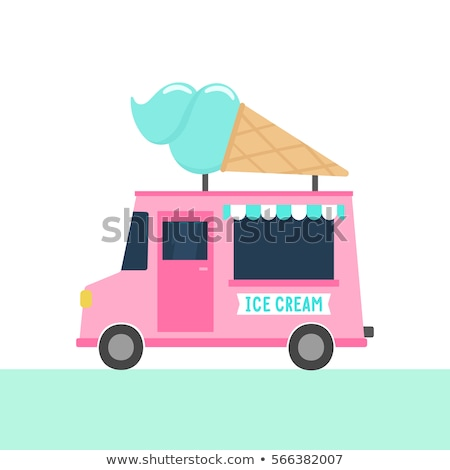 Ice cream truck Stock photo © mikemcd