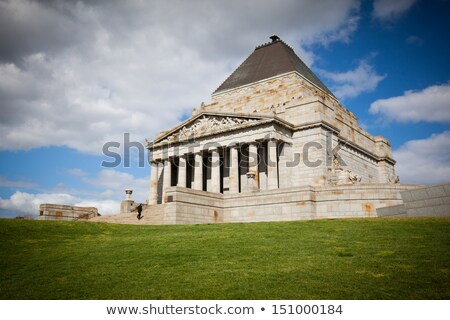Melbourne War Memorial Stock photo © benkrut