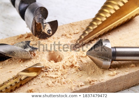 Foto stock: Carpenter Drilling