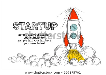 hand drawn sketch design concepts for startups consulting business finance stock photo © davidarts