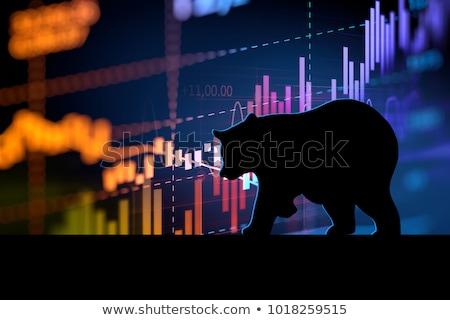 beurs · positief · prognose · financiële · individueel · symbool - stockfoto © lightsource