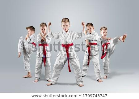 Karate Children Stock photo © Lightsource