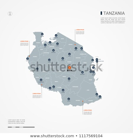 zászló · Tanzánia · fehér · papír · háttér · gyémánt - stock fotó © mayboro