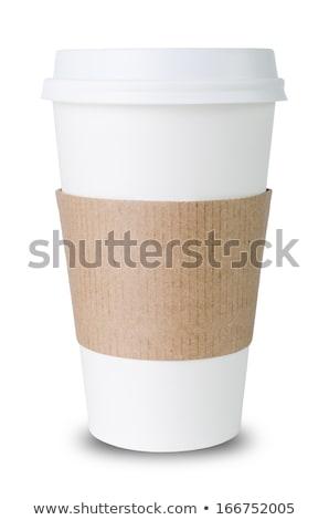 fotoğraf · sarı · fincan · kahve · plaka · tok - stok fotoğraf © punsayaporn