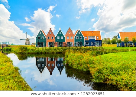 village house in holland stock photo © lypnyk2