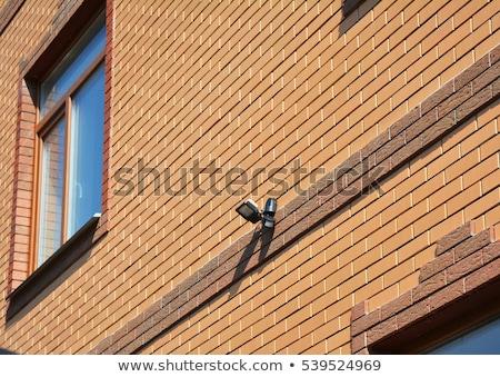 Biztonság fény mozgás szenzor fal ház Stock fotó © jarin13