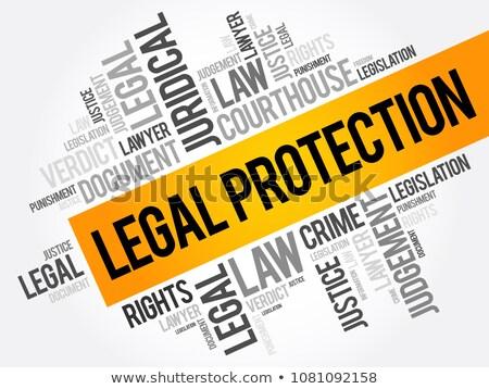 Legal word Stock photo © fuzzbones0