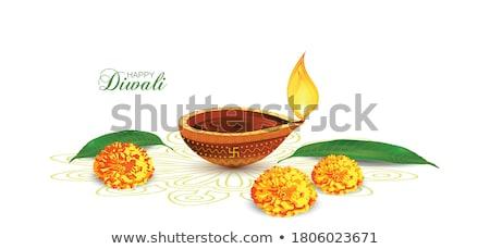 abstract artistic golden diwali  Stock photo © pathakdesigner