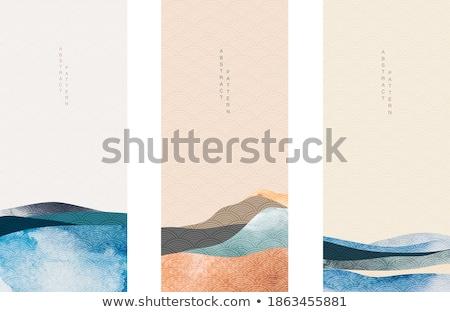 abstract · colori · immagine · pezzi · bordo · shot - foto d'archivio © julietphotography