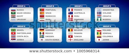 Duitsland Nigeria vlaggen puzzel geïsoleerd witte Stockfoto © Istanbul2009