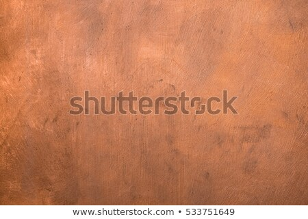 Stock photo: brushed copper surface