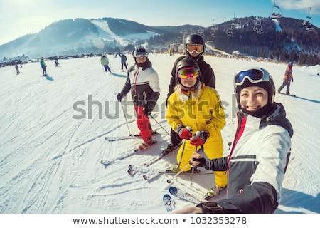 Photo stock: Illustration · sourire · nature · été · hiver