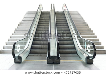 empty escalator stairs stock photo © tang90246