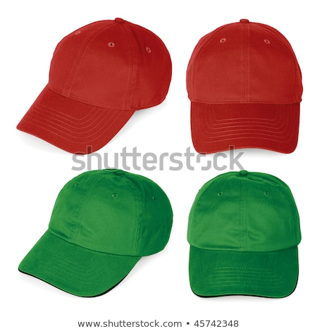 green cap with clipping path stock photo © shutswis