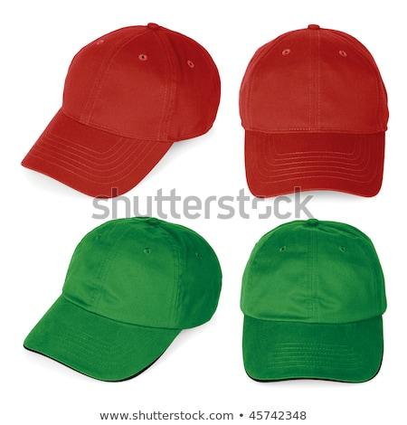 Verde CAP deporte béisbol cabeza Foto stock © shutswis