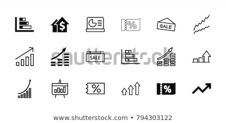 Sale icons Stock photo © bluering