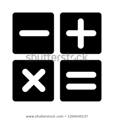Buttons with mathematical signs Stock photo © bluering