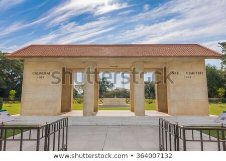 Oorlog begraafplaats Thailand historisch monumenten aanzien Stockfoto © Yongkiet