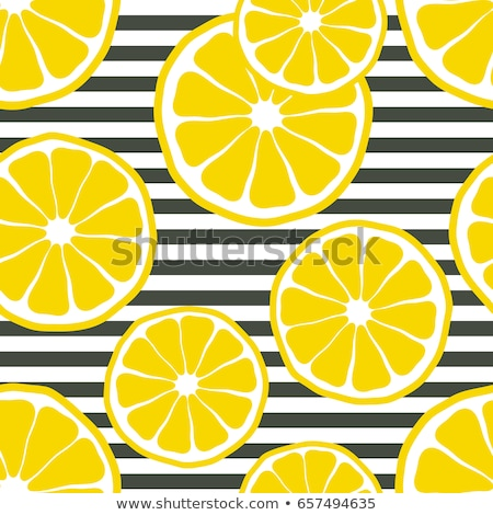 juicy fruit slices on white seamless pattern stock photo © evgeny89