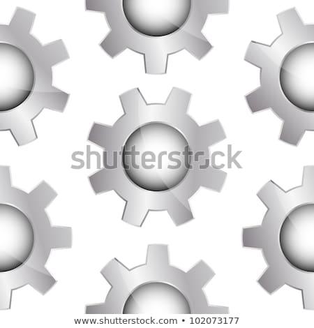金属 白 現実的な ストックフォト © Evgeny89