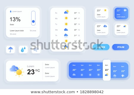 A weather condition Stock photo © bluering