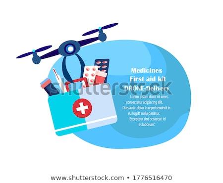 ospedale · simbolo · urgente · medico · stanza · verde - foto d'archivio © lightsource