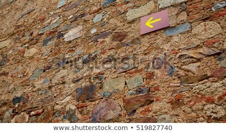 LA felirat szent út város antik Stock fotó © lunamarina